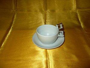 Duke Gold Quadrant Cup & Saucer