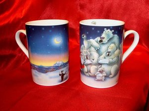 Chacult Arctic Winter Mug, set of 2