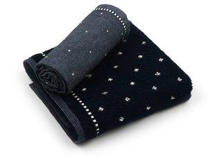 Bunzlau Tea Towel Basic Dark Blue