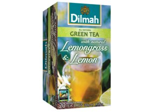 Dilmah Green Tea Lemongrass and Lemon 20 Teabags (30 grams)
