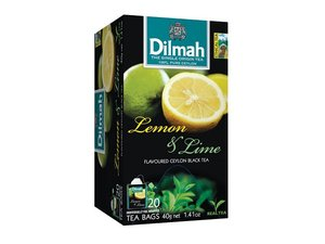 Dilmah Lemon Lime Tea 20 Teabags (40 grams)
