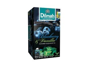 Dilmah Blueberry Vanilla Tea  20 Teabags (40 grams)