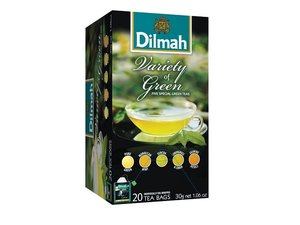 Dilmah Green Variety Pack Tea 20 Teabags (30 grams)
