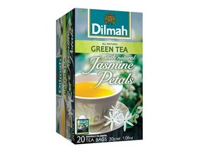 Dilmah Green Tea Jasmin 20 Teabags (30 grams)
