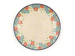 Bunzlau Plate 20 cm Spring - June