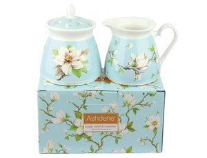 Ashdene Magnolia Sugar and Milkset