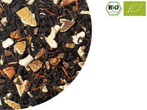BIO Black tea with Grapefruit and cinnamon 100 gram NL-BIO-01