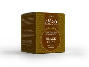 Black Tea - Chai 15 Pyramid Teabags(52,5 grams / € 9,43 per 100 grams)