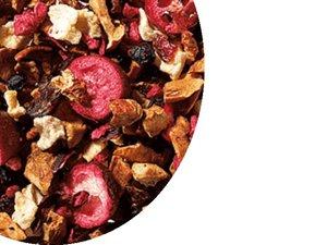 Fruit tea blend Cranberry - Vanilla 100 Gram