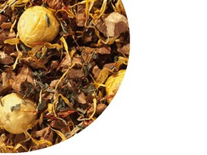 Fruit tea blend Orange Icecream  100 Gram