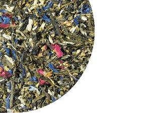 Green Tea Sencha Fairytale forrest with Almonds 100 Gram