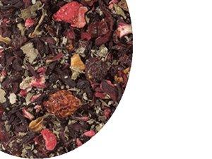 Fruit tea blend Old Love (Strawberry) 100 Gram