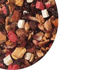 Fruit tea blend Strawberry Cream, 100 Gram