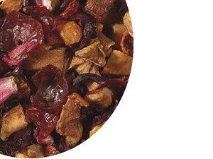 Fruit tea blend Vanilla - Cream 100 gram