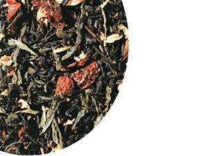 Black and green tea - Moonlight Papaya Rosehip 100 Gram