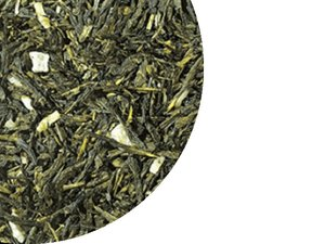 Green Tea Sencha Pina Colada, Cocos, Pineapple 100 Gram
