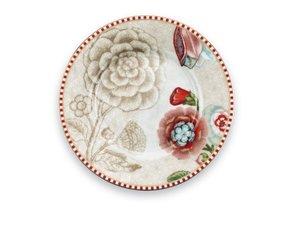 Pip Studio Petit Four Plate Spring to Life Off White