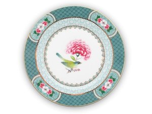 Pip Studio Pastry Plate Blushing Birds White 17 cm PLAATJE FOUT!