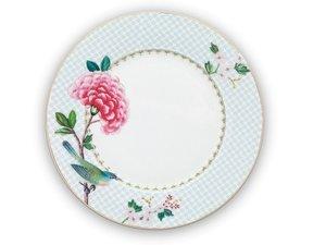 Pip Studio Plate Blushing Birds White 21 cm