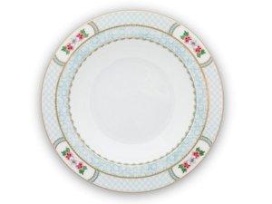 Pip Studio Soup Plate Blushing Birds White 21,5 cm