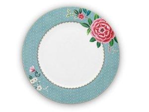 Pip Studio Dinner Plate Blushing Birds Blue 26,5 cm