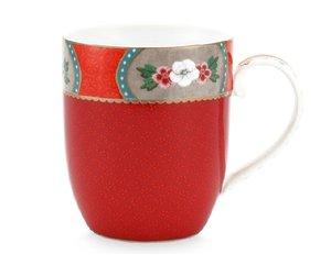Pip Studio Mug Small Blushing Birds Red