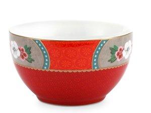 Pip Studio Bowl Blushing Birds Red 9,5 cm