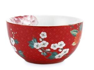 Pip Studio Bowl Blushing Birds Red 12 cm