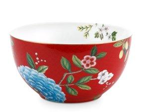 Pip Studio Bowl Blushing Birds Red 15 cm