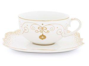 Pip Studio Royal Christmas Tea Cup and Saucer