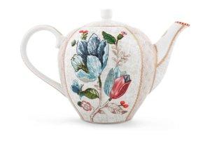 Pip Studio Teapot Spring to Life Off White