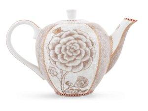 Pip Studio Teapot Small Spring to Life Off White