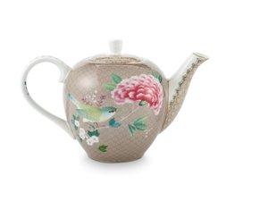 Pip Studio Teapot Small Blushing Birds Khaki
