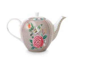 Pip Studio Teapot Blushing Birds Khaki