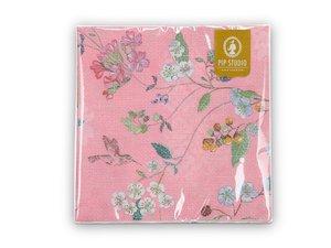 Pip Studio Paper Napkins Hummingbird Pink