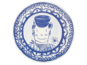 Blond Amsterdam Dinner Plate Boy 26 cm