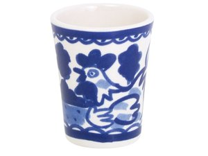 Blond Amsterdam Egg Cup Delfts Blond Rooster
