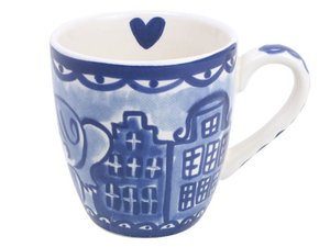 Blond Amsterdam Mini Mug Delfts Blond Kissing