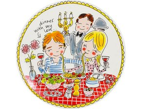 Blond Amsterdam Dinner Plate Love 26 cm