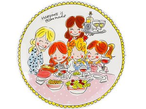 Blond Amsterdam Dinner Plate Girls 26 cm