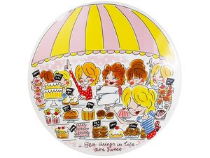 Blond Amsterdam Cake stand Sweet market stall