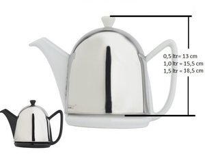 Bredemeijer Cosy Manto Teapot White 0.6 L, replacement teapot