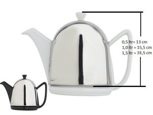 Bredemeijer Cosy Manto Teapot White 1.0 L, replacement teapot
