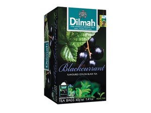 Dilmah Blackcurrant Tea  20 Teabags (40 grams)
