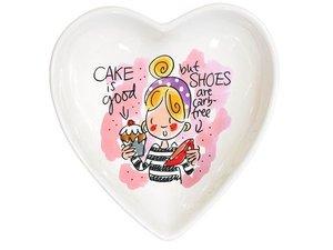 Blond Amsterdam Bowl Heart Pink 16,5 cm