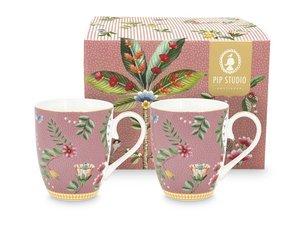 Pip Studio Mug Large La Majorelle Pink