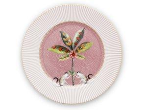 Pip Studio Pastry Plate La Majorelle Pink 17 cm