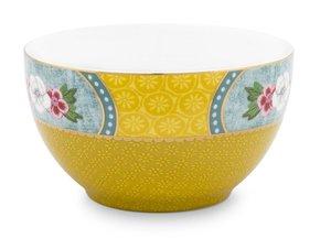 Pip Studio Bowl Blushing Birds Yellow Star Flower 9,5 cm