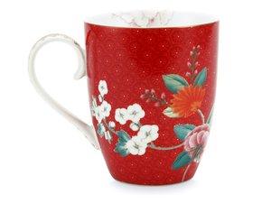 Pip Studio Mug  Blushing Red