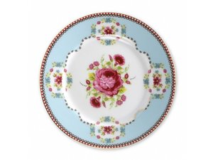 Pip Studio Pastry Plate Early Bird Blue 17 cm